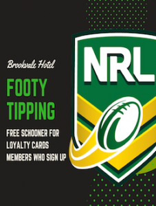 Get a Free Schooner for signing up to Our Footy Tipping Comp!
