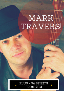 Mark Travers LIVE at The Donny every Thursday