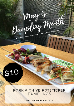 May is Dumpling Month!