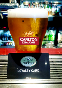 Rugby Test Match – $4 Carlton Draught Schooners